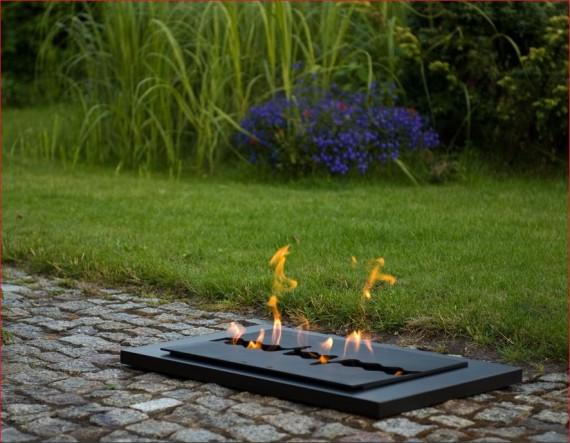 Concepcion - biokominek przenośny, idealny na ogród oraz do salonu