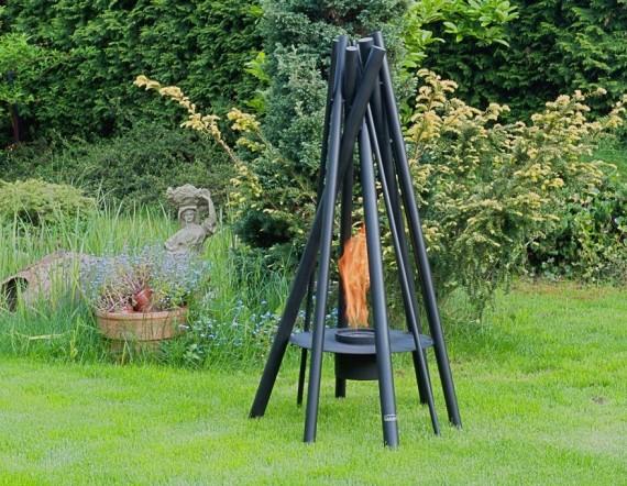 Tavurvur 1200 - biokominek wolnostojący, na taras, do ogrodu, dekoracyjny
