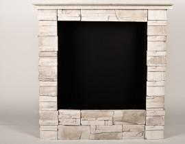 Antyczny Stone 250 - biokominek klasyczny, wolnostojący, kamień, kolor sahara